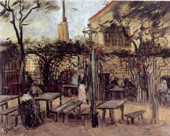 Vincent Van Gogh : Terrace of a Cafe(La Guinguette)