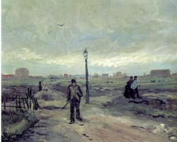 Vincent Van Gogh : A Suburb of Paris