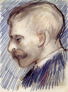 Head of a Man,Probably a Portrait of Theo van Gogh
