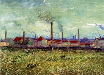 Factories at Asnieres