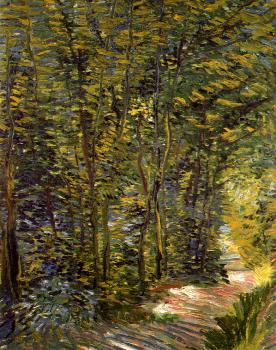 Vincent Van Gogh : A Path in the Woods