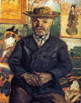 Vincent Van Gogh : Portrait of Pere Tanguy