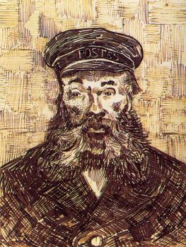 Vincent Van Gogh : Portrait of the Postman Joseph Roulin