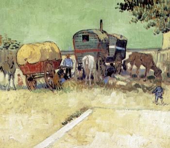 Vincent Van Gogh : Traveling Artists Caravans