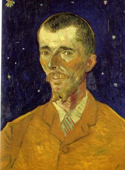 Vincent Van Gogh : Portrait of Eugene Boch