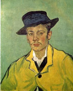 Vincent Van Gogh : Portrait of Armand Roulin