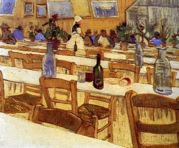 Vincent Van Gogh : Interior of a Restaurant II