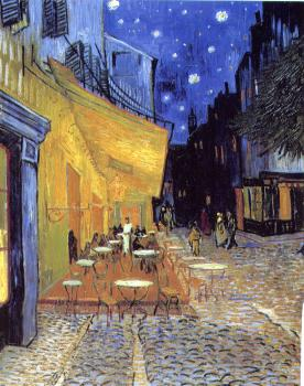 Vincent Van Gogh : Cafe Terrace on the Place du Forum