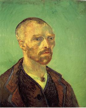 Vincent Van Gogh : Self-portrait, dedicated to Paul Gauguin