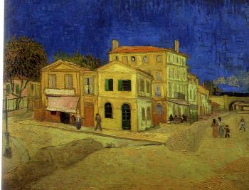 Vincent Van Gogh : The yellow house (Vincent's House)