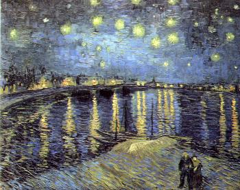 Vincent Van Gogh : Starry Night Over the Rhone