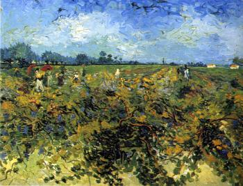 Vincent Van Gogh : The green vineyard