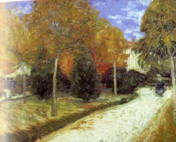 Vincent Van Gogh : Path in the Park at Arles
