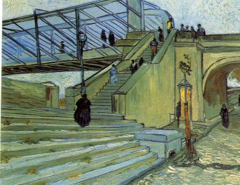 Vincent Van Gogh : The Trinquetaille Bridge II