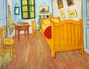 Vincent Van Gogh : Vincent's bedroom