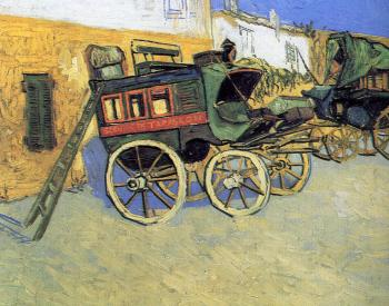 Vincent Van Gogh : The Tarascon Stagecoach