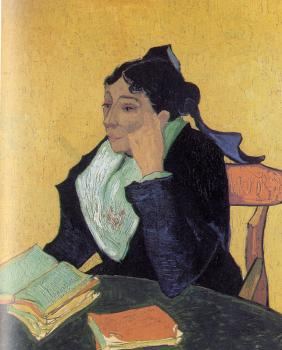 Vincent Van Gogh : The Arlesienne (Madame Ginoux)