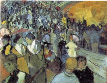 Vincent Van Gogh : Spectators in the Arena