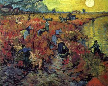 Vincent Van Gogh : The Red Vineyard