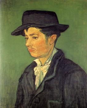 Vincent Van Gogh : Portrait of Armand Roulin II