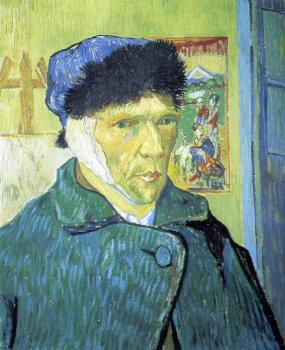 Vincent Van Gogh : Self-Portrait with Bandaged Ear