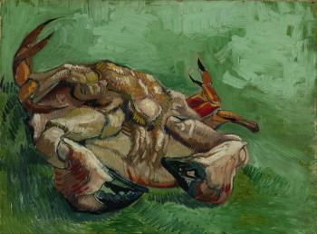Vincent Van Gogh : A crab upside down
