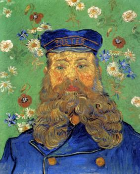 Vincent Van Gogh : Portrait of the Postman Joseph Roulin II