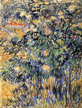 Vincent Van Gogh : Flowering Shrubs