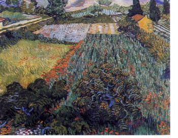 Vincent Van Gogh : fields with poppies