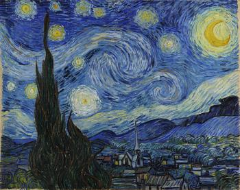 Vincent Van Gogh : The starry night II