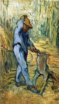 Vincent Van Gogh : The Woodcutter(after Millet)