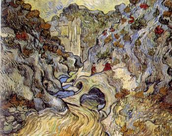 Vincent Van Gogh : A Path through the Ravine