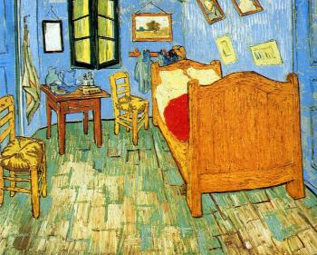 Vincent Van Gogh : Vincents Bedroom