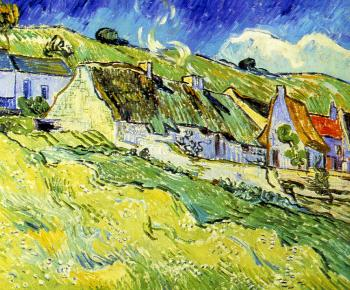 Vincent Van Gogh : A Group of Cottages