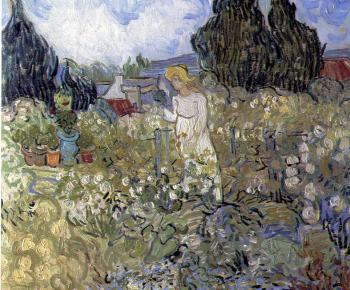 Vincent Van Gogh : Marguerite Gachet in the Garden
