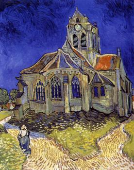 Vincent Van Gogh : The Church at Auvers-sur-Oise