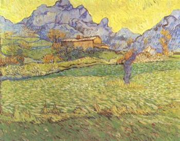 A Meadow in the Mountains, Le Mas de Saint-Paul