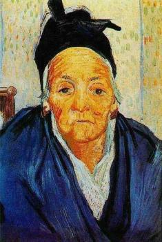 Vincent Van Gogh : An Old Woman of Arles