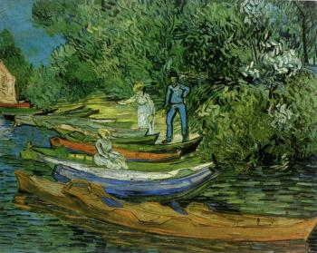 Vincent Van Gogh : Bank of the Oise at Auvers