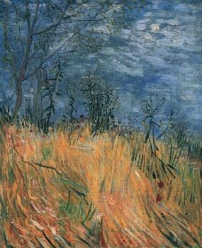Vincent Van Gogh : Edge of a Wheatfield with Poppies