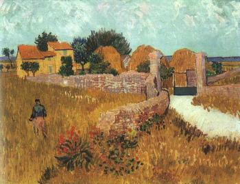 Vincent Van Gogh : Farmhouse in Provence II