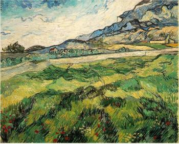 Vincent Van Gogh : Green Wheat Field