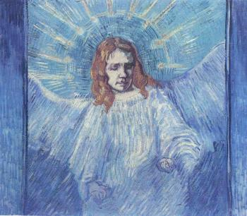 Vincent Van Gogh : Half Figure of an Angel