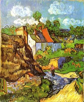 Vincent Van Gogh : House in Auvers
