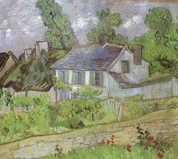 Vincent Van Gogh : House in Auvers II