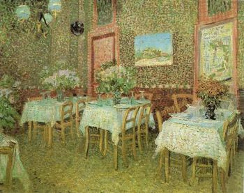 Vincent Van Gogh : Interior of a Restaurant III