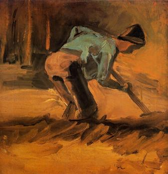 Vincent Van Gogh : Man Digging