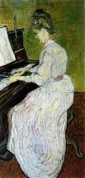 Vincent Van Gogh : Marguerite Gachet at the Piano II