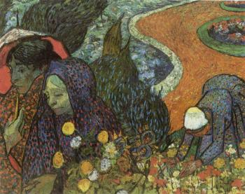 Vincent Van Gogh : Memory of the Garden at Etten, Women of Arles