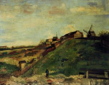 Vincent Van Gogh : Montmartre, Quarry, the Mills